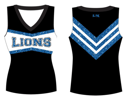 Brick City Lions Cheer Sublimated Cheer Vest