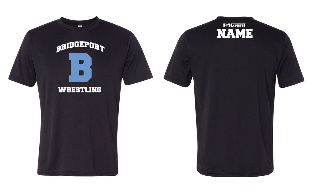 Bridgeport Wrestling DryFit Performance Tee - Black