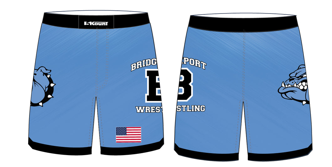 Bridgeport Wrestling Sublimated Fight Shorts - 5KounT