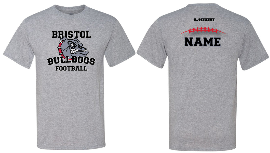 Bristol Jr. Football Sublimated DryFit Performance Tee - 5KounT2018