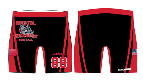 Bristol Jr. Football Sublimated Compression Shorts