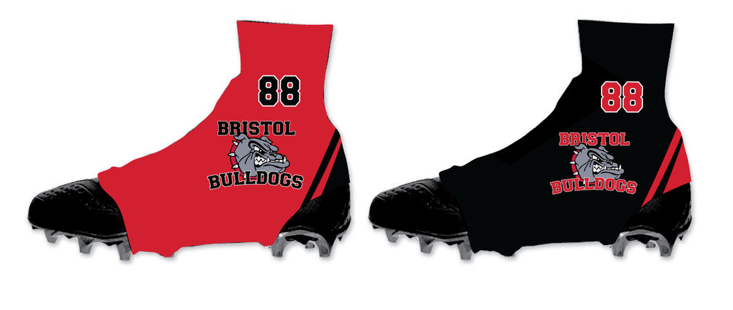 Bristol Jr. Football Spats (Cleat Covers)