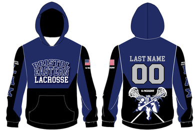 Bristol Eastern HS Lax Sublimated Hoodie - 5KounT2018