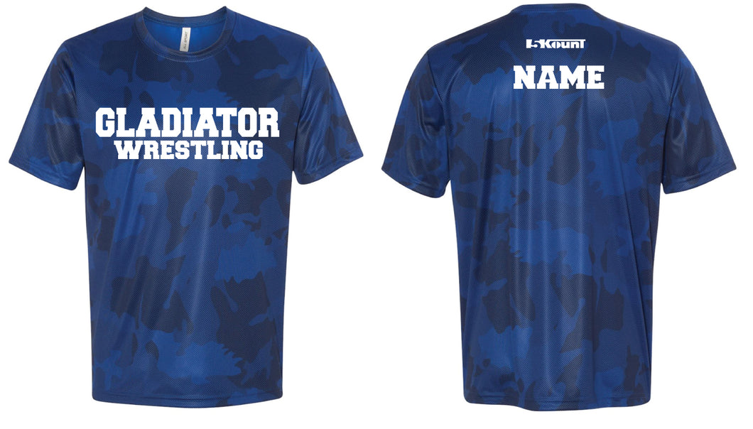 Bristol Gladiators Laser Camo Tech Tee
