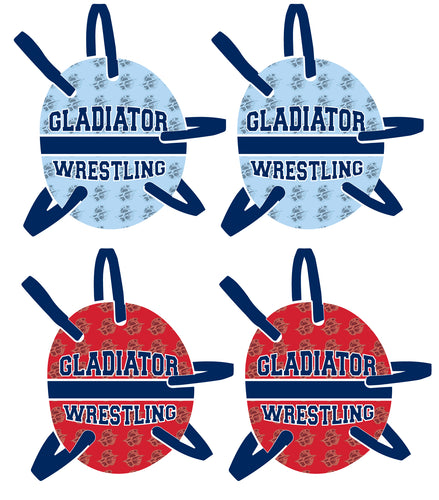 Bristol Gladiators Wrestling Headgear - 5KounT2018