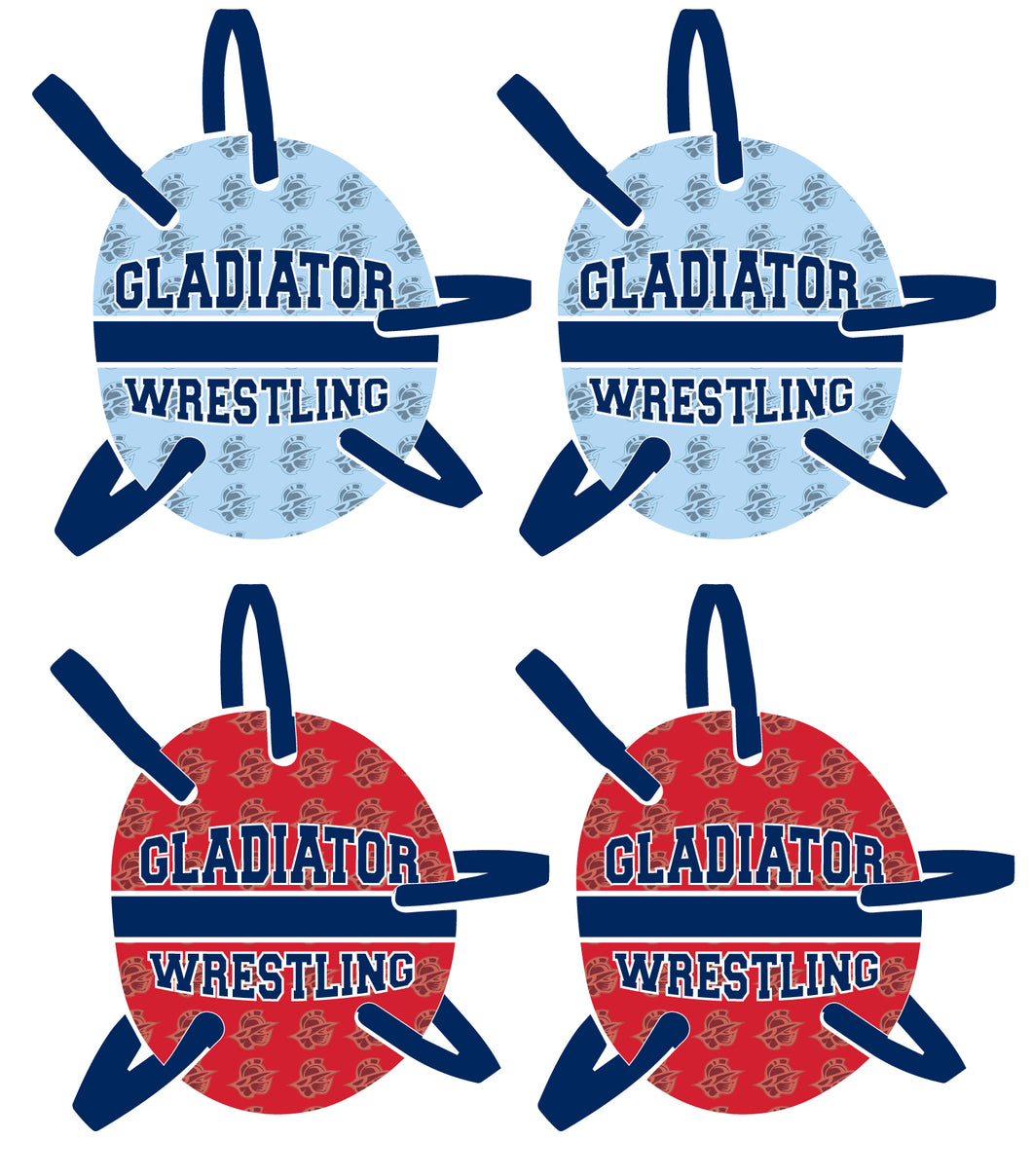 Bristol Gladiators Wrestling Headgear