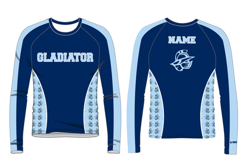 Bristol Gladiators Sublimated Long Sleeve Shirt - 5KounT2018