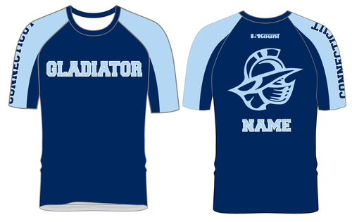 Bristol Gladiators Sublimated Fight Shirt - 5KounT2018