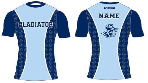 Bristol Gladiators Sublimated Compression Shirt - 5KounT2018