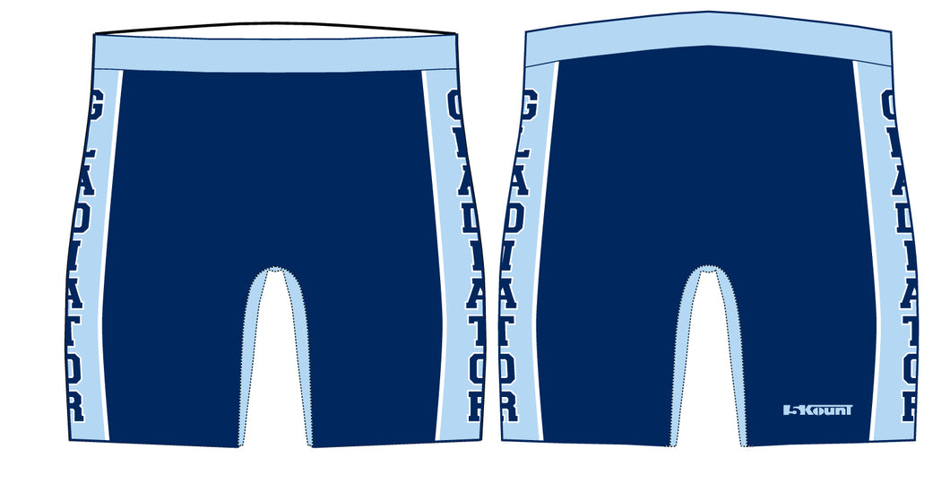 Bristol Gladiators Sublimated Compression Shorts