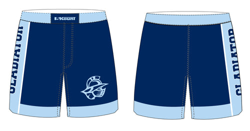 Bristol Gladiators Sublimated Fight Shorts - 5KounT2018