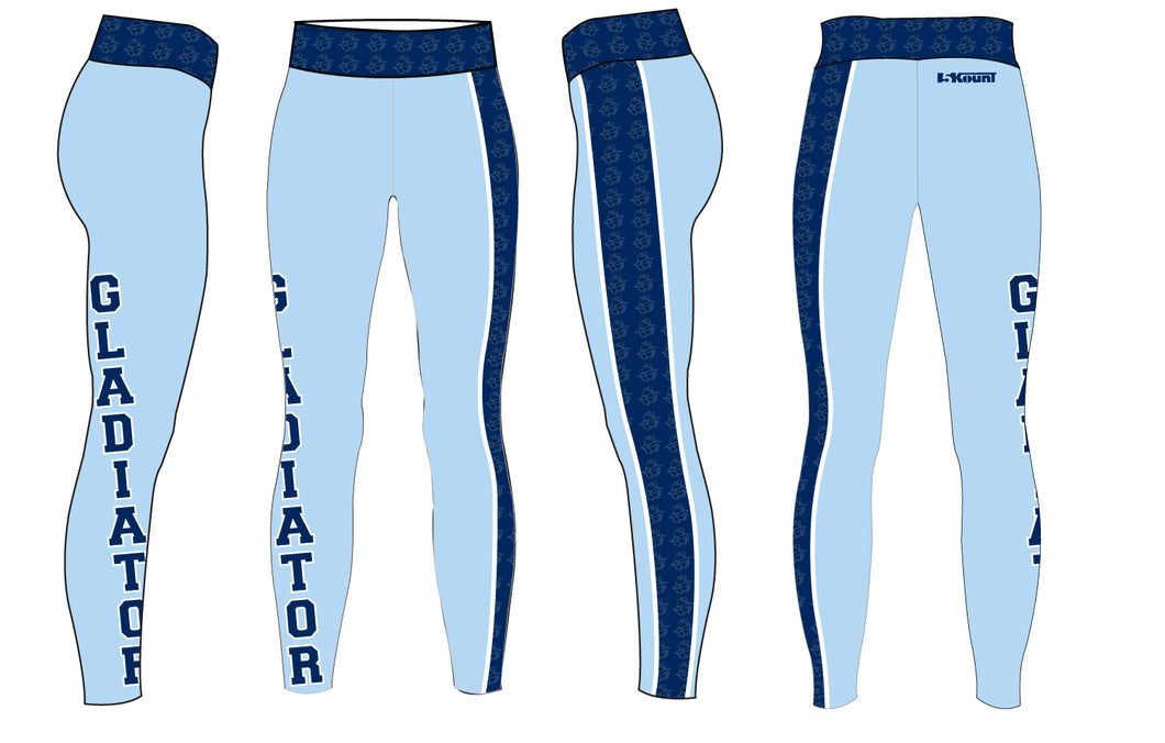 Bristol Gladiators Sublimated Ladies Legging