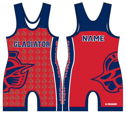 Bristol Gladiators Sublimated Singlet -Red - 5KounT2018