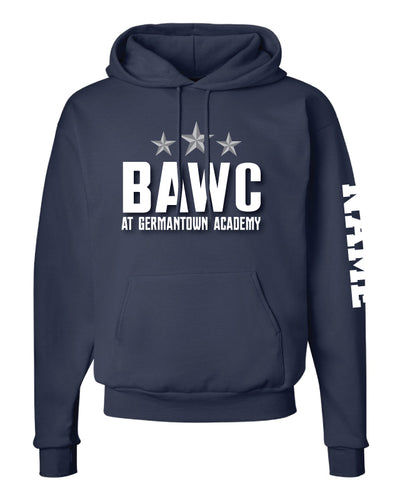 Broad Axe Wrestling Club Cotton Hoodie - Navy