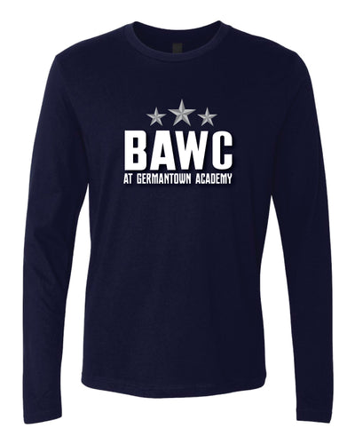 Broad Axe Wrestling Club Long Sleeve Cotton Crew - Navy