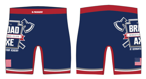 Broad Axe Wrestling Club Sublimated Compression Shorts
