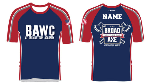Broad Axe Wrestling Club Sublimated Fight Shirt