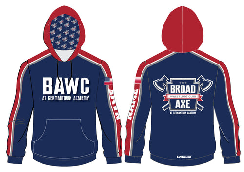 Broad Axe Wrestling Club Sublimated Hoodie