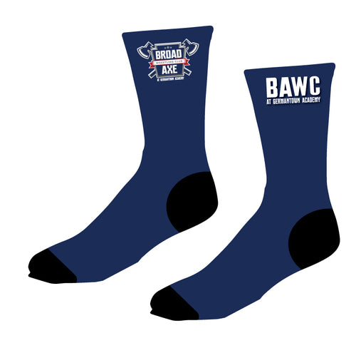 Broad Axe Wrestling Club Sublimated Socks