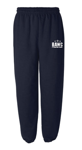 Broad Axe Wrestling Club Cotton Sweatpants - Navy