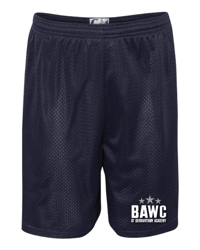 Broad Axe Wrestling Club Tech Shorts - Navy