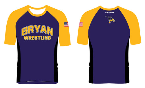 Bryan Wrestling Sublimated Fight Shirt