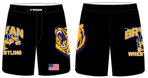 Bryan Wrestling Sublimated Fight Shorts