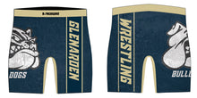 Glen Arden Bulldogs Wrestling Sublimated Compression Shorts
