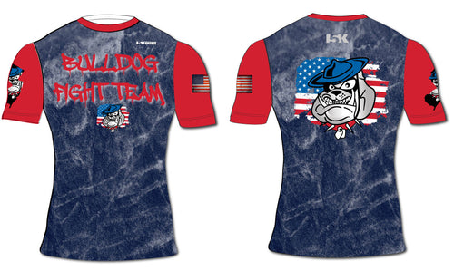 Bulldog Fight Team Sublimated Rashguard