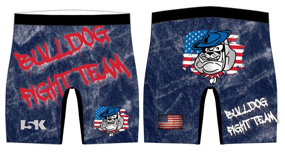 Bulldog Fight Team Sublimated Compression Shorts