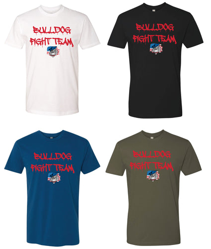 Bulldog Fight Team Cotton Crew Tee