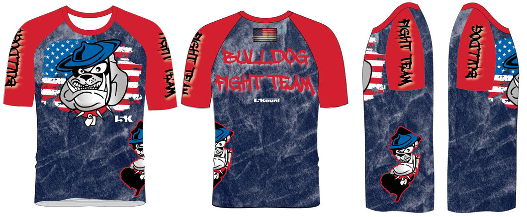 Bulldog Fight Team Sublimated Fight Shirt - 5KounT2018