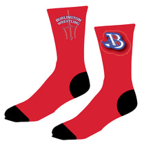 Burlington Wrestling Sublimated Socks - 5KounT2018