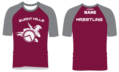 Burnt Hills Sublimated Fight Shirt