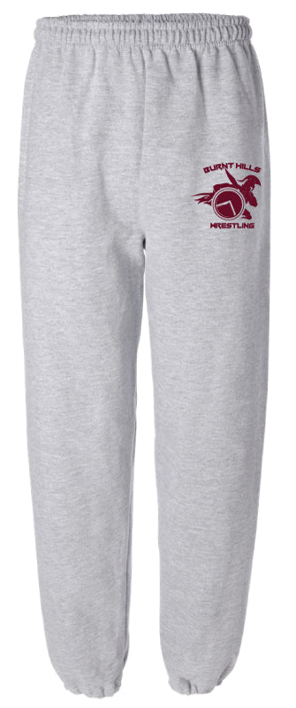 Burnt Hills Cotton Sweatpants - Grey