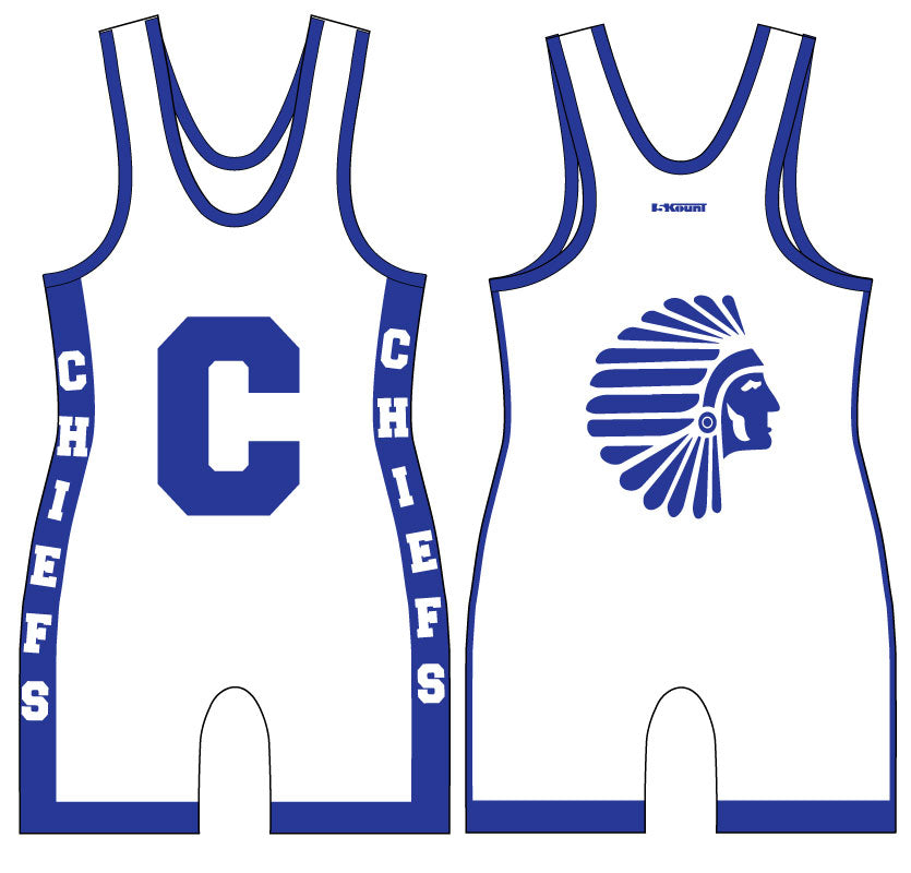 Caldwell Sublimated Singlet - White