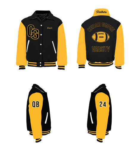 Cedar Grove Panthers Varsity Jacket