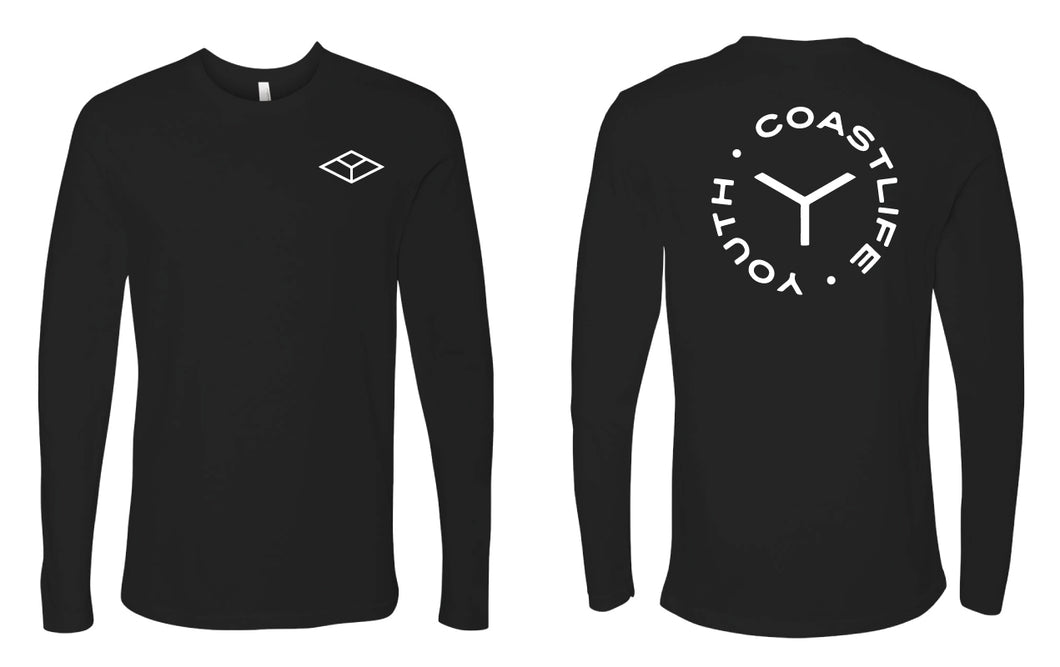 Coast Life Long Sleeve Cotton Crew