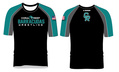Coral Reef Wrestling Sublimated Fight Shirt - 5KounT2018
