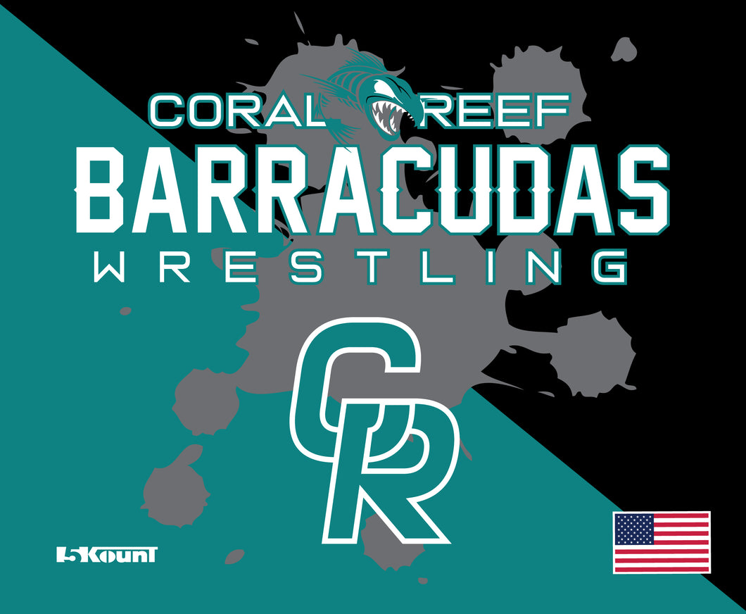 Coral Reef Wrestling Sublimated Mousepad