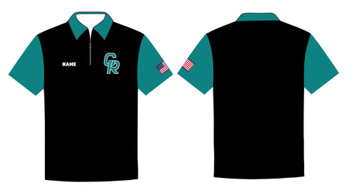 Coral Reef Wrestling Sublimated Polo - 5KounT2018