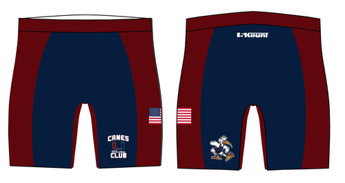 Canes Wrestling Club Sublimated Compression Shorts - 5KounT2018