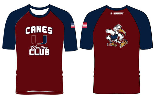 Canes Wrestling Club Sublimated Fight Shirt - 5KounT2018