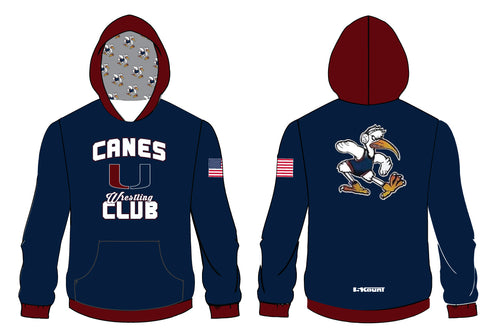 Canes Wrestling Club Sublimated Hoodie - 5KounT2018