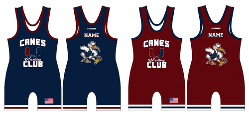 Canes Wrestling Club Sublimated Singlet Package - 5KounT2018