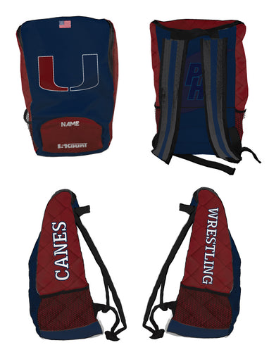 Palm Harbor Wrestling Sublimated Backpack