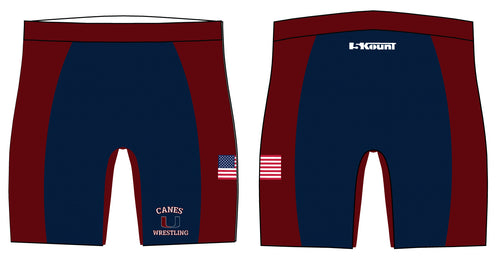 Palm Harbor Wrestling Sublimated Compression Shorts