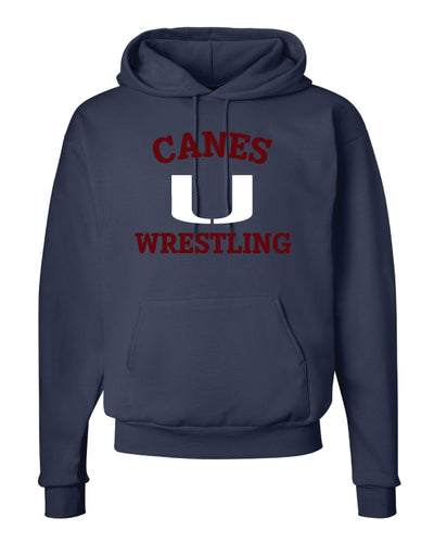 Palm Harbor Wrestling Cotton Hoodie