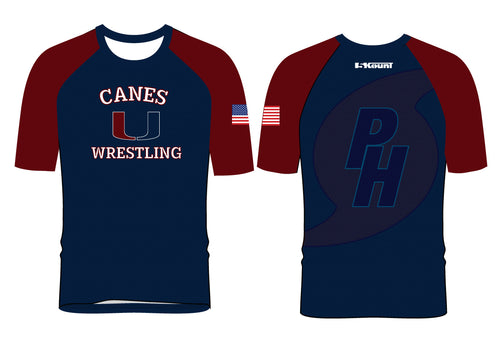 Palm Harbor Wrestling Sublimated Fight Shirt