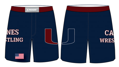 Palm Harbor Wrestling Sublimated Fight Shorts